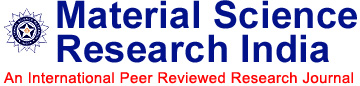 Material Science Research India